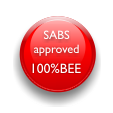 SABS Approved and 100% BEE